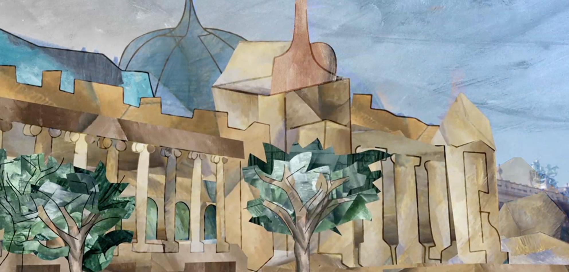 Georges braque la bande annonce rmn grand palais for Braque peintre