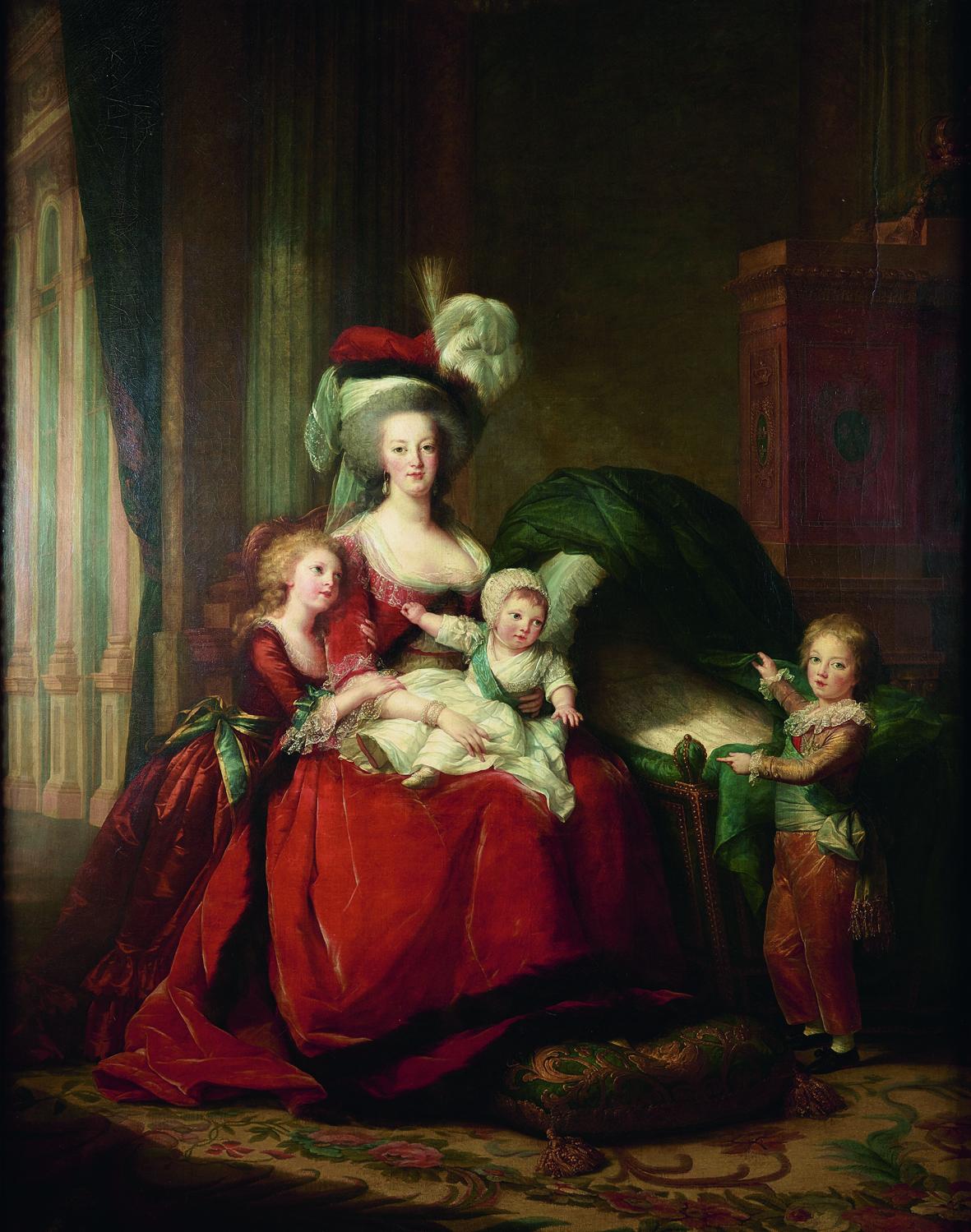 """Résultat de recherche d'images pour """"Marie-Antoinette et ses enfants"""""""