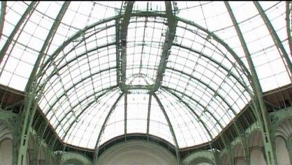 Le salon d 39 honneur premi re phase de restauration rmn for Salon d honneur grand palais