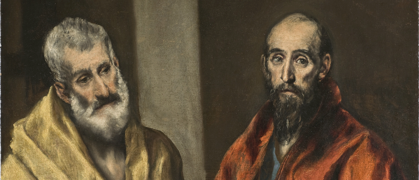 El Greco, Saint Pierre et Saint Paul
