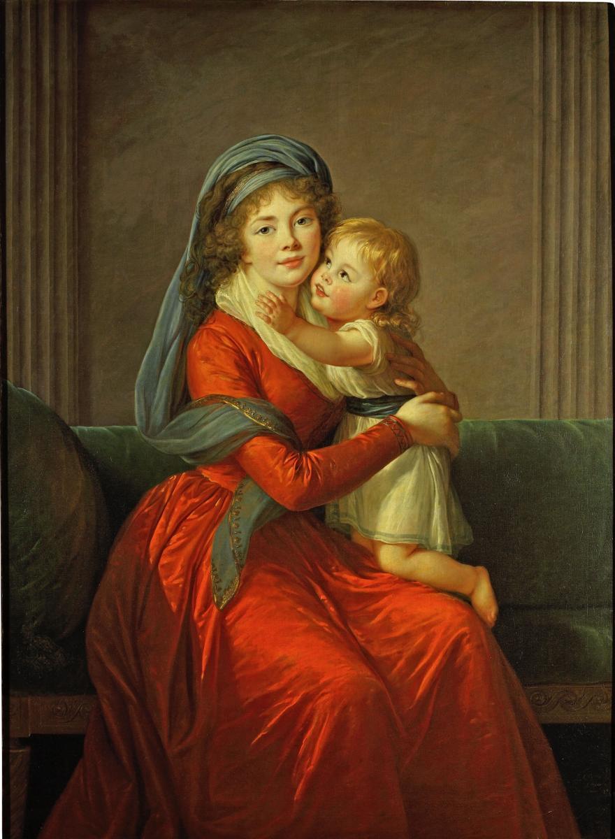 Souvent Élisabeth Louise Vigée le Brun- un parcours de l'exposition | RMN  PN38