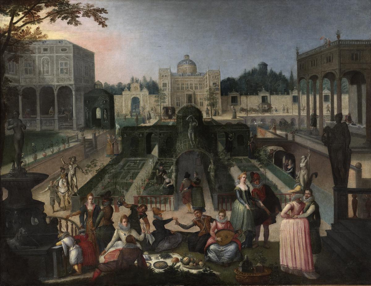 Le jardin reflet de la soci t rmn grand palais - Effroyables jardins histoire des arts ...