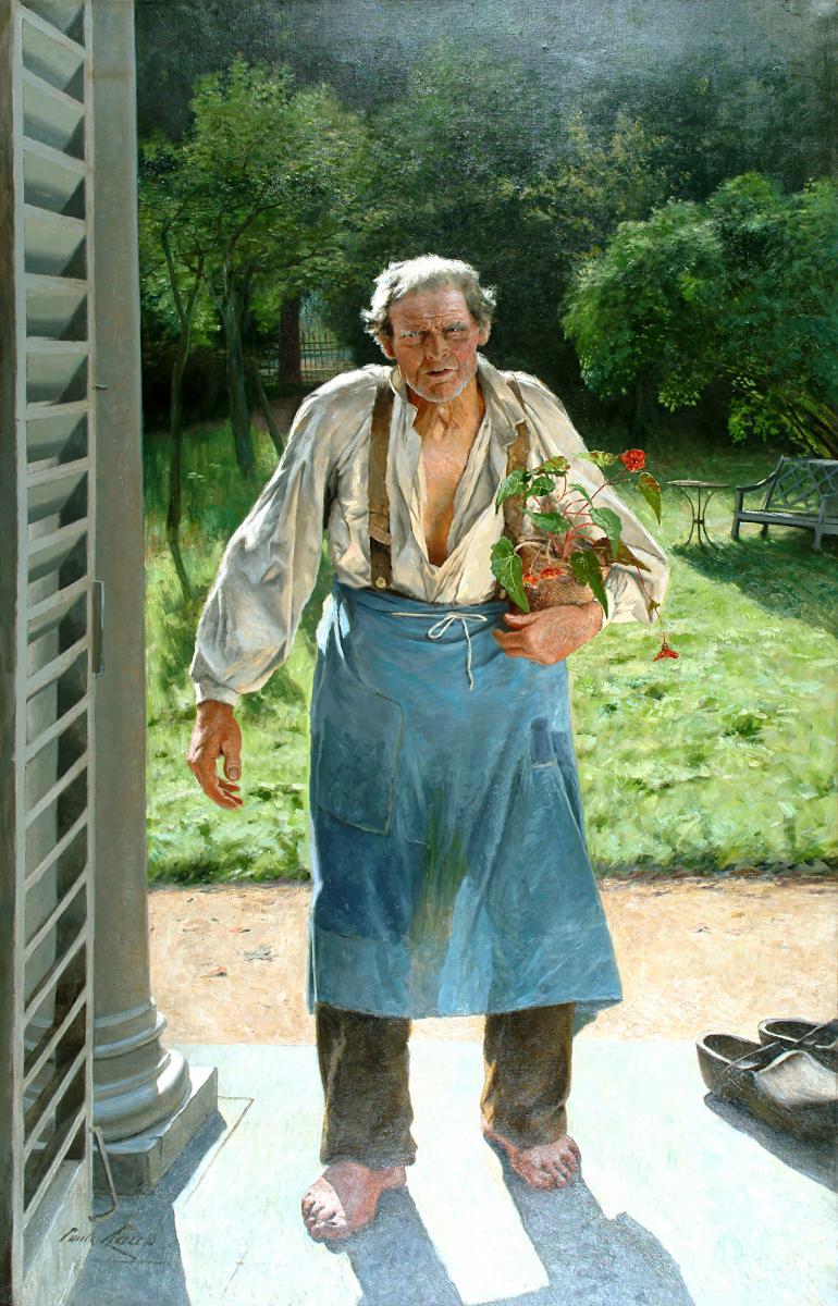 Le jardinier cet artiste du paysage l 39 honneur au grand for Le jardinier