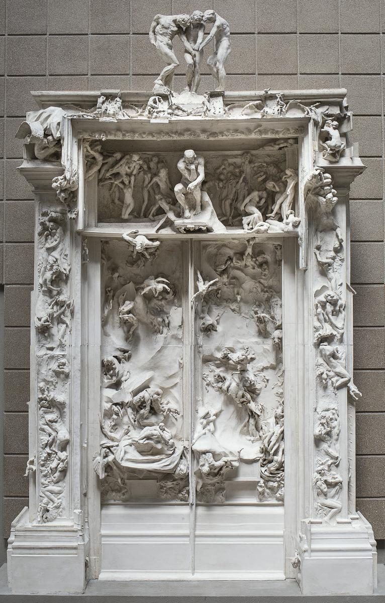 Rodin et sa porte de l 39 enfer le travail d 39 une vie rmn grand palais - La porte de l enfer rodin ...