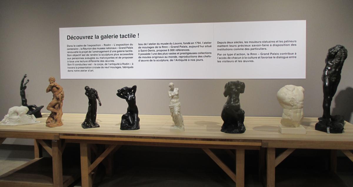 ca056a1546b ... pour rendre la sculpture plus accessible aux personnes non ou  malvoyantes et proposer aux publics une autre approche des œuvres.