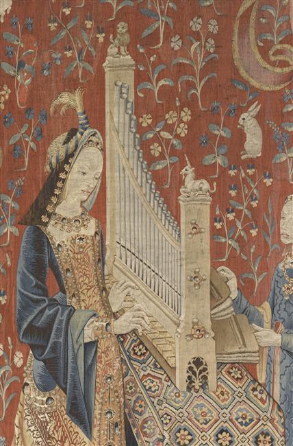 La tapisserie m di vale rmn grand palais - La tapisserie de la dame a la licorne ...