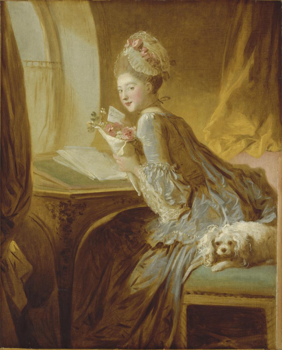 la lettre d\\'amour Œuvres commentées de Fragonard : La Lettre d'amour | RMN   Grand  la lettre d\\'amour
