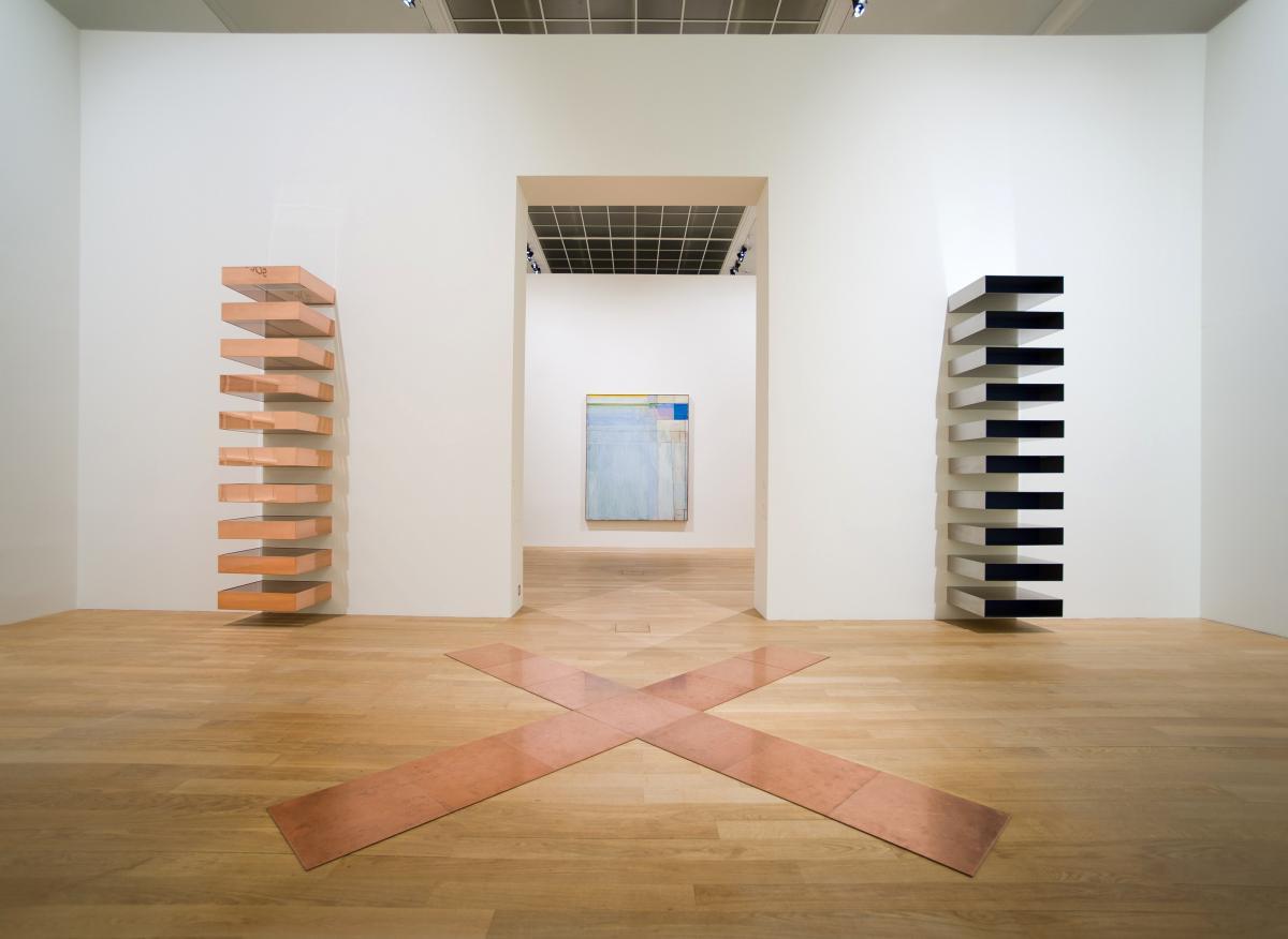 Le minimalisme par le spectre de carl andre et de dan for L art minimaliste