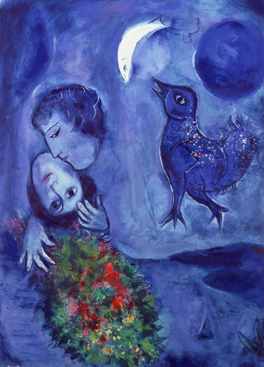 Qu allez vous voir l expo chagall rmn grand palais for Chagall tableau