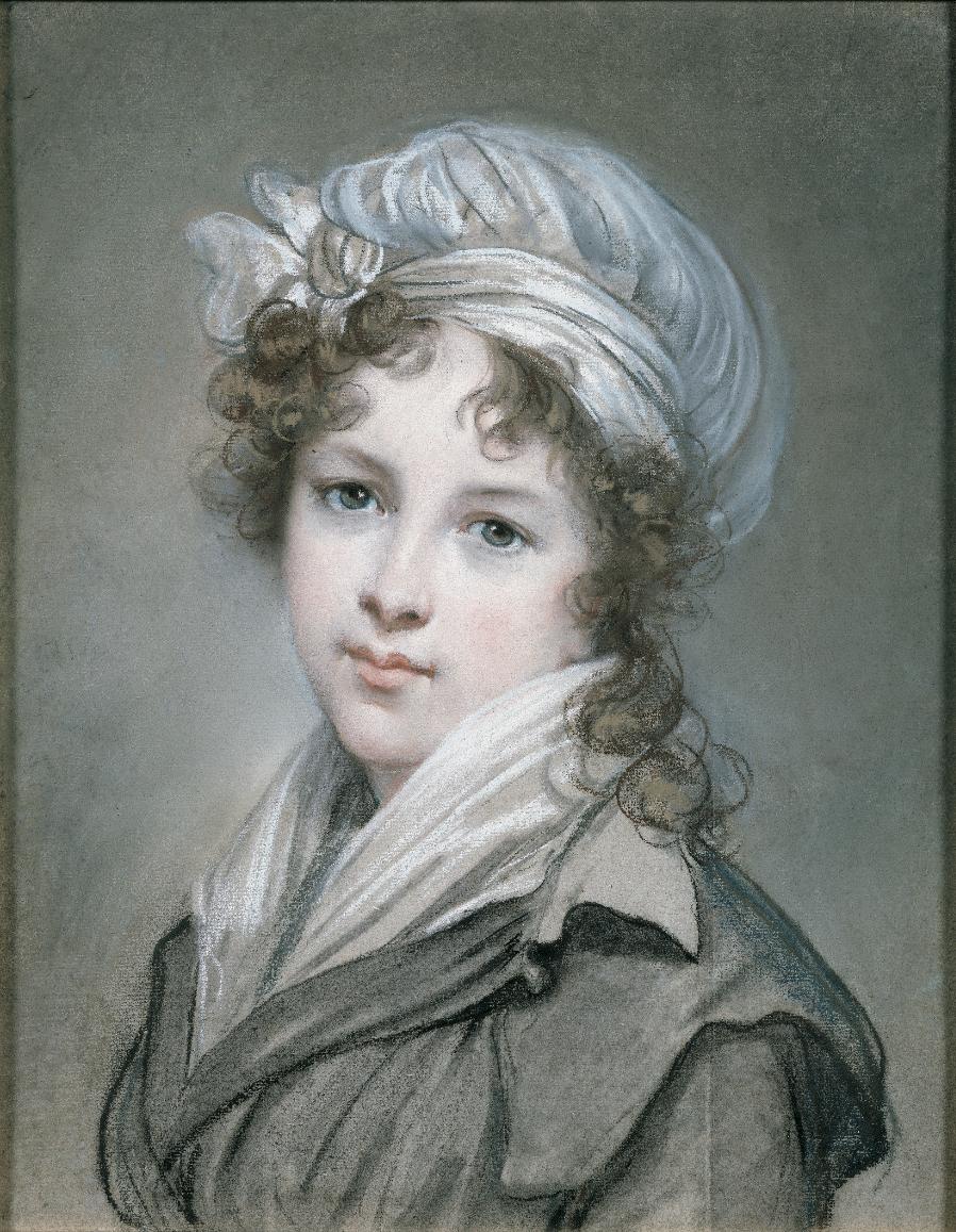 Œuvres commentées d'Élisabeth : Portrait de l'artiste en costume de voyage  | RMN - Grand Palais