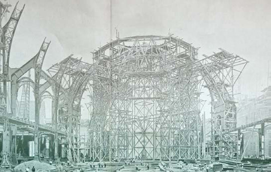 chantier Grand Palais