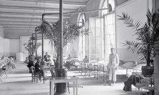 l'hôpital du Grand Palais 1915
