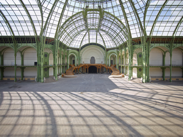 La nef rmn grand palais for Salon d honneur grand palais