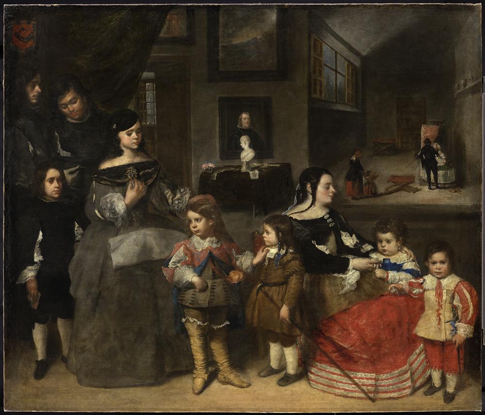 œuvre Commentee La Famille De Velazquez Rmn Grand Palais