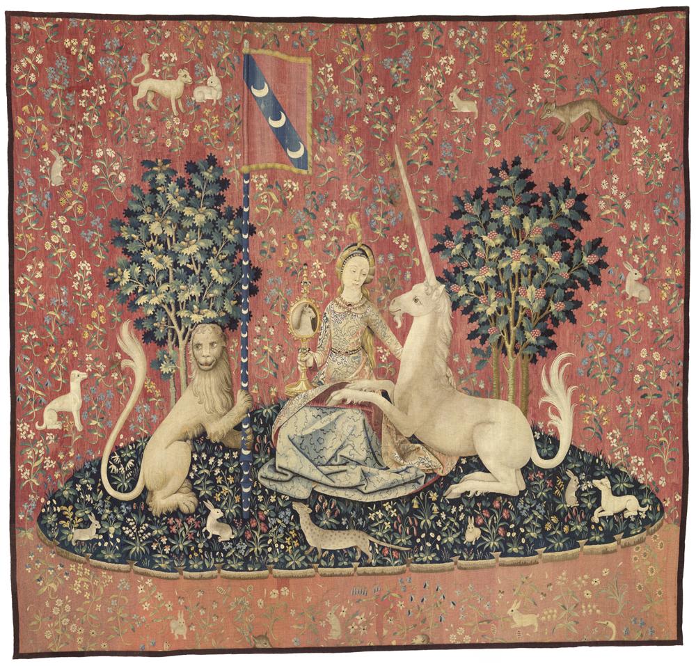 Percez le secret de la dame la licorne rmn grand - La tapisserie de la dame a la licorne ...