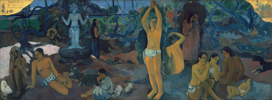 Paul Gauguin D'où venons-nous? Que sommes-nous? Où allons-nous? © Boston Museum of Fine Arts