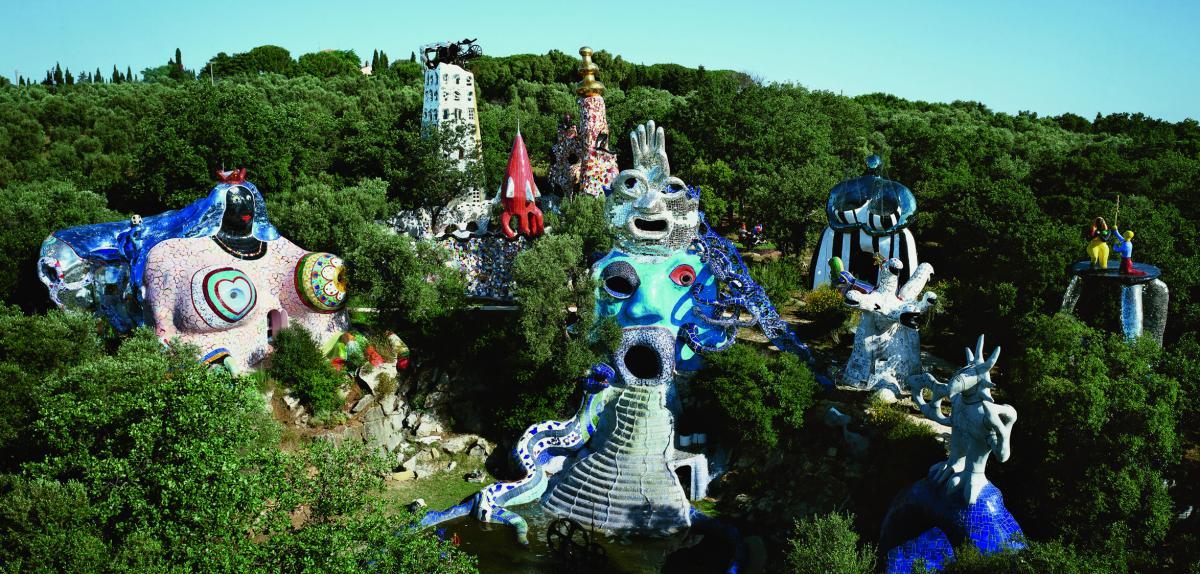 Les oeuvres monumentales de niki de saint phalle rmn grand palais les oeu - Niki de saint phalle maison ...