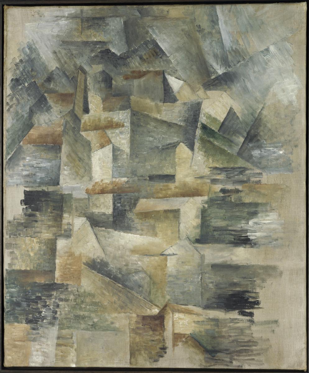 Braque et picasso rmn grand palais for Braque peintre