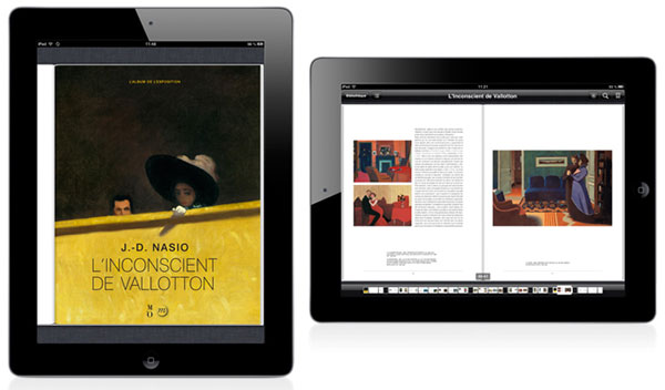 Application iPad Vallotton et ebook
