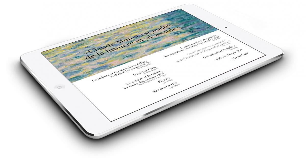 L 39 application monet fait peau neuve e album monet une for Application miroir pour ipad
